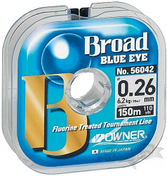 Леска рыболовная OWNER BROAD BLUE EYE 150 m