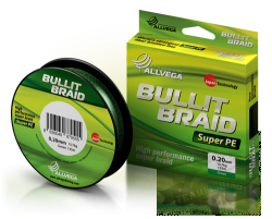 Леска плетеная ALLVEGA BULLIT BRAID DARK GREEN 135M