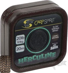 Поводок карповый Carp Spirit HERCULINE BRAID 20M CAMO BROWN