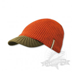 Шапка Shimano Knit Watch Cap(with brim) кор.-хаки