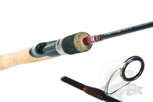 Рукоятка спиннинга для твиччинговой ловли