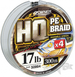 Шнур плетеный OWNER HO PE BRAID 150 m