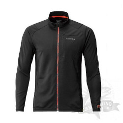 Футболка MS Full Zip Shirt (long sleeve) SH-001N Черный