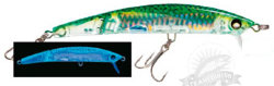 Воблер F1051-HGM Yo-Zuri Crystal 3D Minnow Jointed 130F 130mm 22g