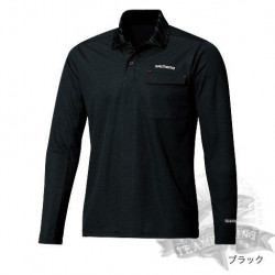 Футболка Polo Shirt (long sleeve) SH-094N Черная